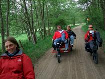 Beeindruckende Liegerad-Erlebnis-Tour durch das Holsteiner Auenland im Norden Hamburgs