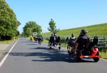 Presse-Info 3/2017: Radreisen mit dem Liegerad