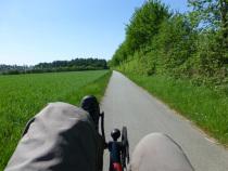Von Kiel nach München mit dem Toxy Liegerad Pedelec