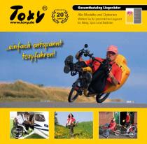 Der Toxy Liegerad Katalog 2015 ist eingetroffen...