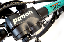 Order your Toxy with Pinion drive now!