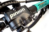 Pinion ab sofort serienmässig für alle Toxy Liegerad Modelle