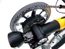 Toxy Liegerad-Pedelec mit Tretlager-Motor auf  ISPO und EUROBIKE 2012