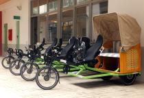 Städteregion Aachen erhält vier Trimobile für Inklusions-Projekt