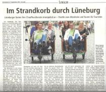 Lüneburger Landeszeitung 27.09.2014