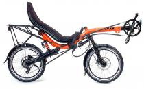 Toxy-CR full suspension comfort recumbent equipped for tour & commuting