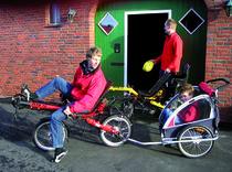 Familienausflug & tägliche (Klein-)Transporte mit dem Liegerad