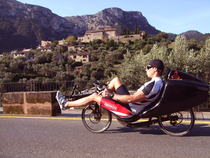 Toxy ZR Liegerad-Training auf Mallorca