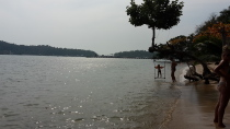 Strand & Nebel auf Koh Chang