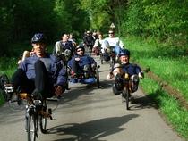 Spezial-Fahrräder testen, erleben und genießen an und auf der Elbe