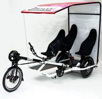 Trimobil E.Shuttle als Fahrrad Rikscha