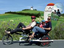 Personenbeförderung mit Fahrradrikscha ist erlaubt