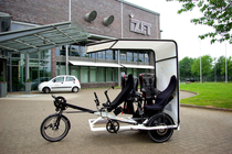 Fahrrad-Taxi Trimobil E.Shuttle mit Pedelec-Option