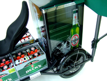 Trimobil cargo-trike e-bike & beer POS Salesbike