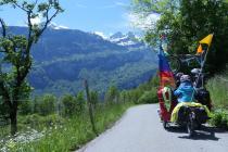 Durch die franzoesischen Alpen