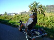 Fahrradtour an der Costa Verde, Sardinien