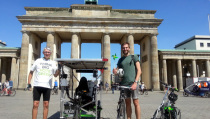 Green Party Solar Trimobil trike across Europe